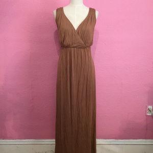 Summer maxi dress  Jersy knit plus size